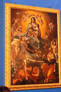 Painting of our Lady of Mercy